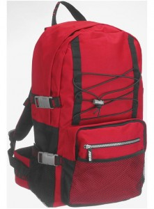 PLECAK GRIZZLY - Silver Backpack