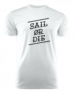 SAIL OR DIE / WHITE - RUN