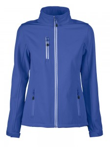 PRINTER SOFTSHELL VERT LADY NIEBIESKI