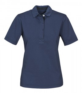 HARVEST KOSZULKA POLO AMHERST LADIES FADED BLUE