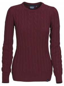 HARVEST SWETER TREADVILLE LADY BURGUND RED