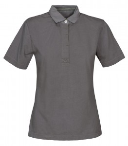 HARVEST KOSZULKA POLO AMHERST LADIES FADED GREY