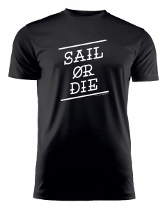 SAIL OR DIE / BLACK - RUN